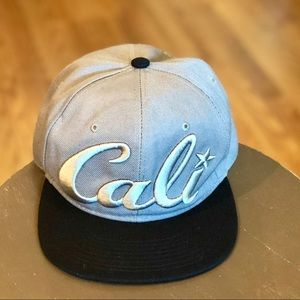 Gray Cali Hat